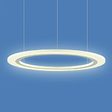 60CM Simple Style Acrylic Hanging Modern LED Pendant Lights Lamp For Dining Living Room Lighting , Lustres E Pendentes De Sala new design acrylic modern led pendant lighting lamp with 6 lights for dining room foyer lustres e pendentes de sala ac