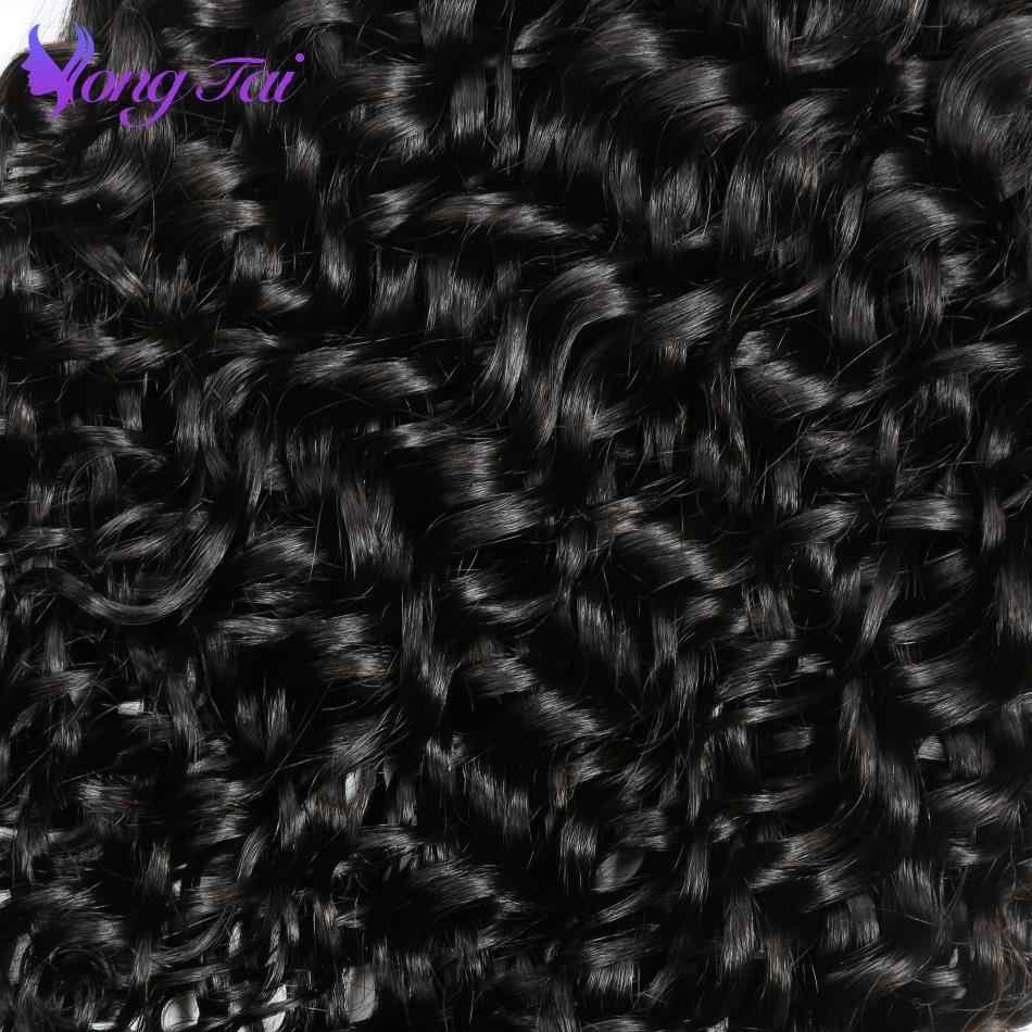 Yongtai Haar Water Wave Bundels Peruaanse Haar Weave Bundels 3 Menselijk Haar Bundels Remy Hair Extensions Gratis Verzending Dubbele Inslag