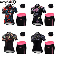 High Quality Women's MTB Bike Quick Dry Jersey Shorts 3D Padded Summer Sports Shirt Dress Cycling Clothing Ropa Ciclismo