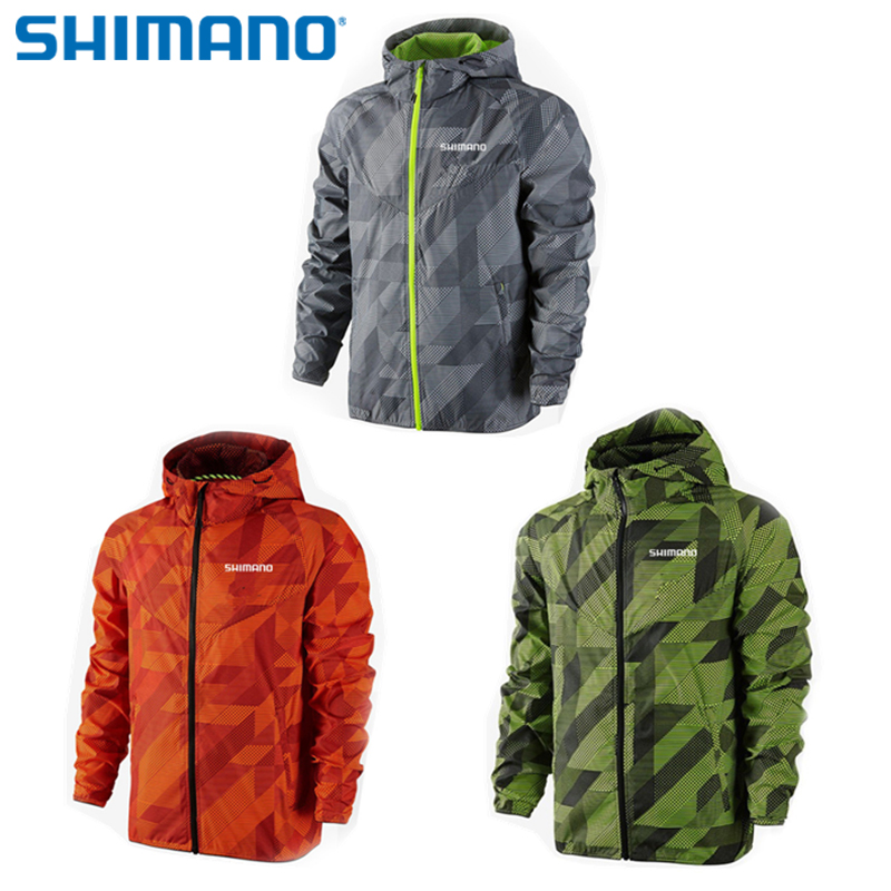 SHIMANO 2018 Summer Sun Protective Fishing Jacket Ultra Thin UV Protection Clothes Quick Dry Windbreaker Fishing Coat Suits