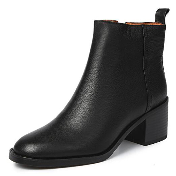 2018 New Fashion Womens Boots Ankle Boots Shoes Platform Pumps Black Size 40 aa0498