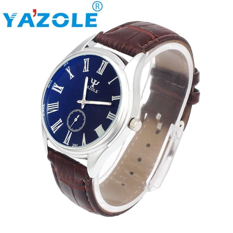 YAZOLE Fashion Quartz Watch Men Watches Top Brand Luxury Male Clock Business Mens Wrist Watch Hodinky Relogio Masculino #A83