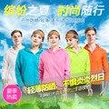 Las mujeres ropa de protección solar de verano Transpirable de secado rápido movimiento más el tamaño capa de la chaqueta envío gratuito