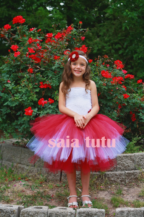 tulle baby bridesmaid flower girl wedding dress fluffy ball gown USA birthday evening prom cloth cake party  tutu dress 2017new