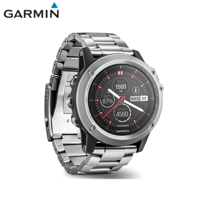 цена на Garmin FENIX 3 Bluetooth 4.0 Sapphire Mirror Dial LCD Screen Smart Watch With Altimeter Compass GPS Thermometer Waterproof