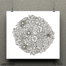 AZSG Hundred flowers/Bloom Clear Stamps For Scrapbooking DIY Clip Art /Card Making Decoration Crafts