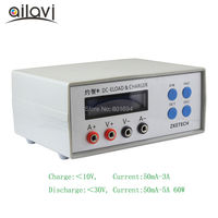 EBC A05+ Battery Capacity Gauge Portable Power Bank Tester Power Performance DC Electronic Load&Charger Test 0 30V 5A 60W