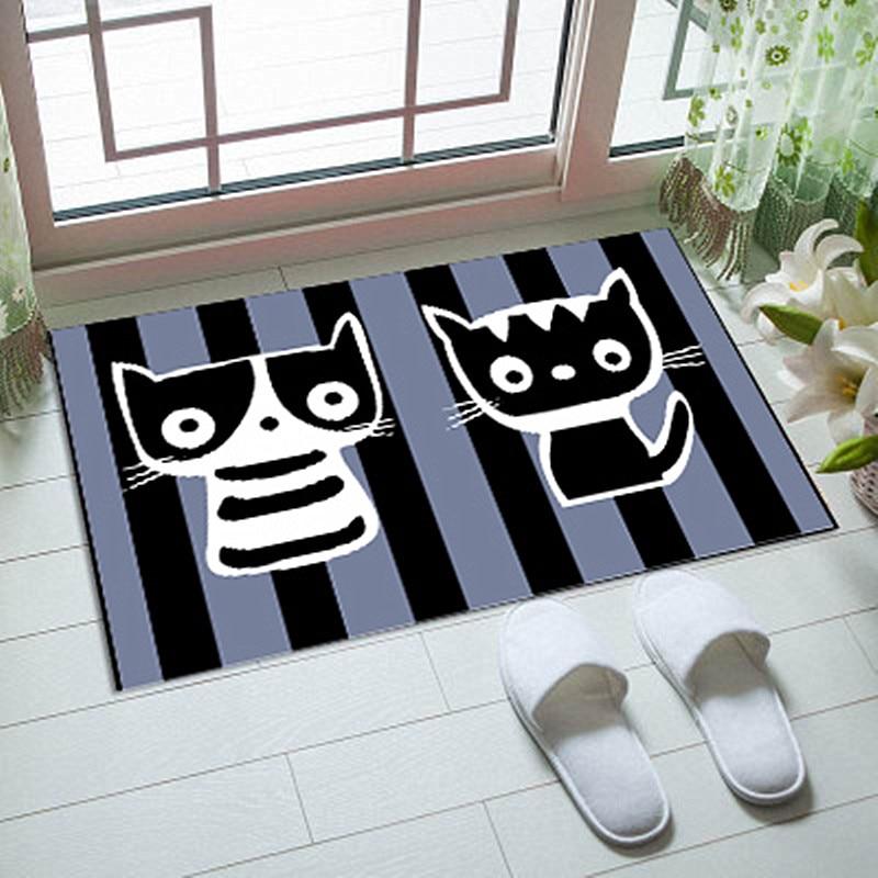 Cartoon Children Bedroom Carpet Parlor Door Mats Kitchen Floor Mat Anti Slip Mat For Bathroom Rugs tapis de bain salle de bains