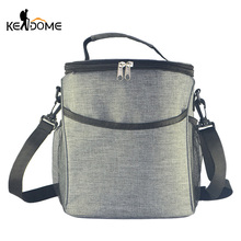 Camping Storage Picnic Bags Mesh Bolsas De bolso Picknick Basket Cooler Tote Insulated Food Thermal Storage Container  XA883WD