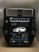 Чистый Android 7.1.1 четырехъядерный 2 ГБ ram автомобильный DVD для TOYOTA Land Cruiser prado 600 1024*150 емкостный экран, ГБ 32 Гб gps BT wifi