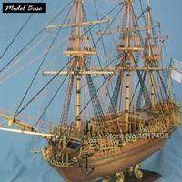 Комплект модели корабля для взрослая шкала 1:50 деревянная модель кораблей Diy Развивающие игры детские модели лодки дерево 3d лазерная резка К