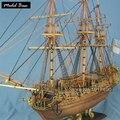 Kit de Modelo de nave Para Adultos Escala 1:50 Modelos De Barcos de Madera Juegos Educativos Para Niños Modelos de Barcos de Madera de Diy 3d Laser Cut Caroline