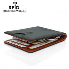 Weduoduo Brand Genuine Cow Leather Men Wallet Fashion Coin Pocket Trifold Design Men Purse High Quality Women Card ID Holder mingclan vintage trifold genuine leather wallet men design cowhide leather id card holder male purse short coin pocket bag purse