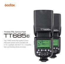 GODOX TT685C E-TTL Speedlight 2.4G HSS 1/8000s GN60 Wireless Flash Speedlite for Canon 70D 60D 650D 600D 550D 500D 5D II III