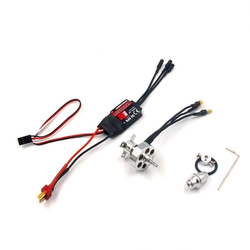 RC hobby power system combo motor and ESC 24 grams brushless outrunner 2730 1300KV 1700KV 20A ESC Hobbywing SkyWalker