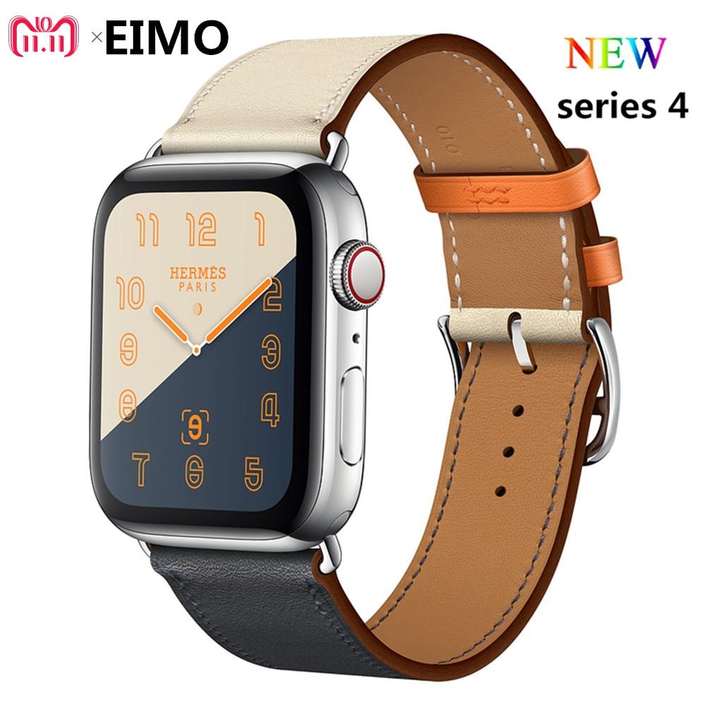 De cuero tour correa de reloj Apple watch banda 4 44mm 40mm pulsera Correa Iwatch series 3/2 /1 correa 42mm 38mm de la correa de muñeca