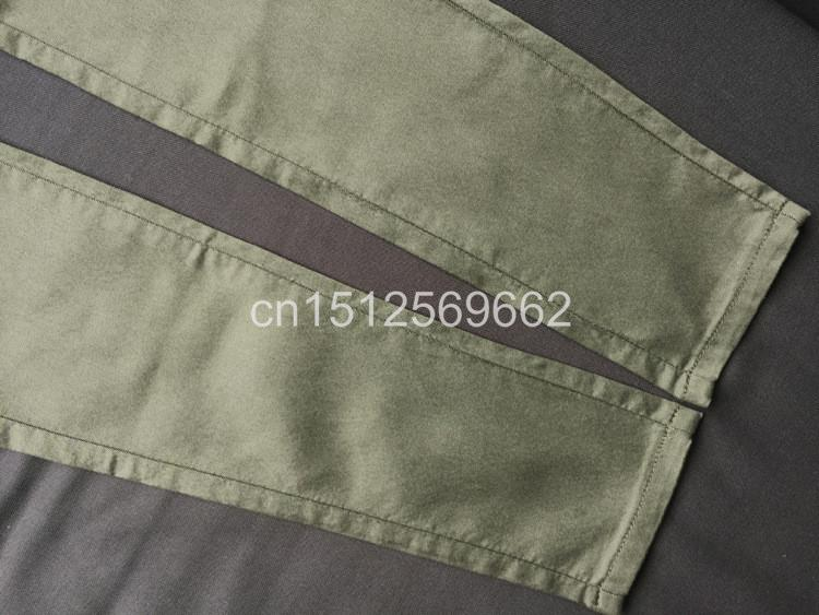Army Green Jeans Women 16