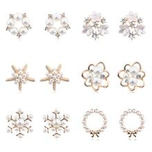 US $1.43 20% OFF MENGJIQIAO 2019 Fashion New Style Simulated Pearl Flower Stud Earrings For Women Sweet Bijoux Cute Heart Starfish Oorbellen Gift-in Stud Earrings from Jewelry & Accessories on Aliexpress.com   Alibaba Group