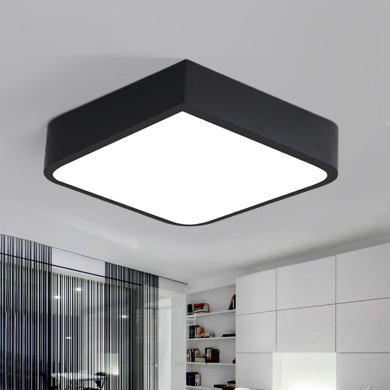 Ceiling Lights & Fans Creative Cylinder Ceiling Light Lamparas De Techo Plafoniere Lampara Techo Salon Bedroom Light For Home Led Ceiling Lamp
