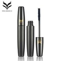 HUAMIANLI Mascara Waterproof Makeup Eyelashes Curling Thick Lengthening Mascara Long Black Lash Eyelash Natural Eye Make