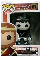 2015 Exclusive FUNKO POP Official Asia Black and White Monkey King Vinyl Action Figure Collectible Model Toy with Original Box