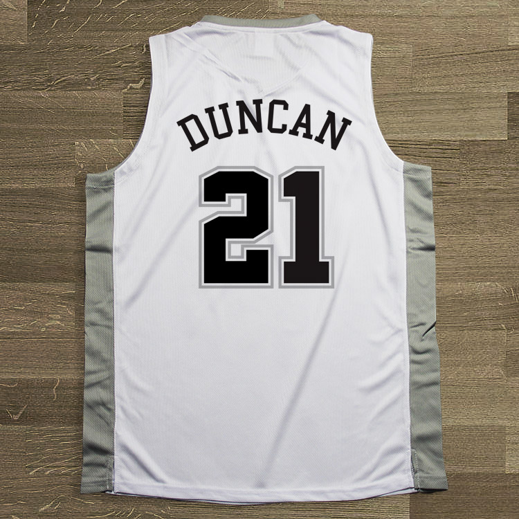 watch e04f2 d1588 SYNSLOVEN design Men Basketball Jersey top sleeveless Uniforms spurs no.21  tim duncan Sports clothing mesh Breathable plus size-in Basketball Jerseys  ...