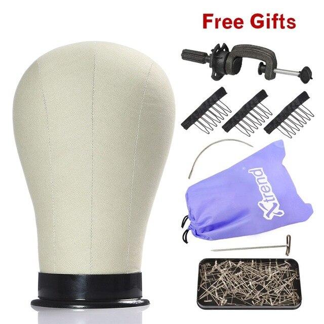 Xtrend манекен головной парик из пробки холст блок Manequin с подставкой держатель манекена Manican глав стенды делая инструменты T контакты купол
