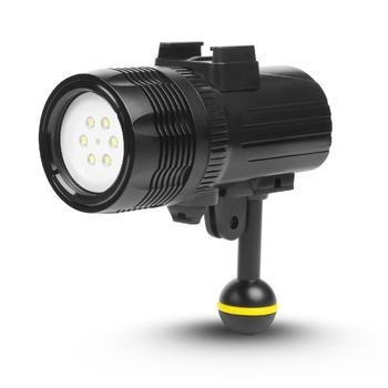 LED Video Light for HERO7/6/5 Video Light Video Light 1000LM Waterproof Underwater Diving Flashlight