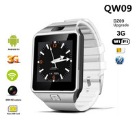 QW09 Smart Watch Men Android 4.4 MTk6572 512MB+4GB 3G wifi Bluetooth Smartwatch MP3 player Weather For Android phone Apple Watch