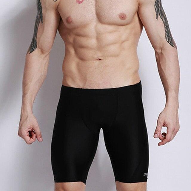 1e7fb004a1cb7 Desmiit Swimsuit Men Swim Trunks Low Waist Sexy Men Swimwear Profession  Swimming Shorts Summer Beach Surf