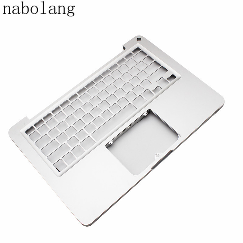 Nabolang A1278 2010 Top Case 97% Nouveau Ruban clavier d'ordinateur portable couverture sans clé-conseil Pour MacBook Pro 13