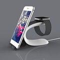 Multi-função de suporte do telefone para o iphone de carregamento stand holder para apple watch iwatch mesa dock station para samsung xiaomi meizu