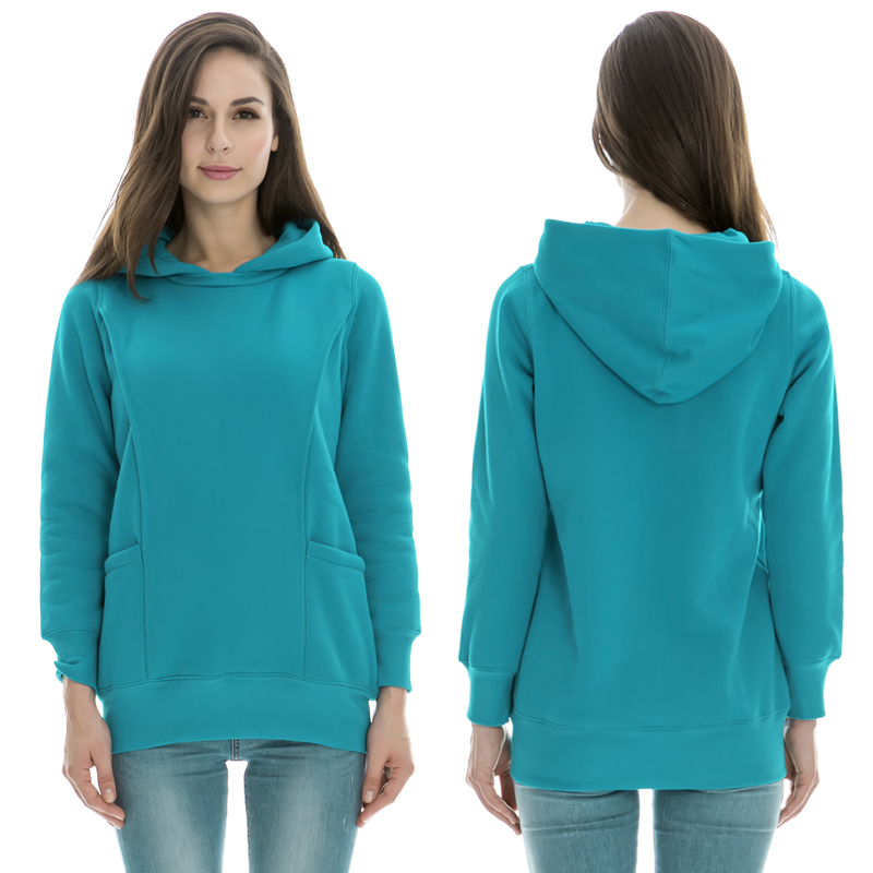 6146115043bc2 Maternity clothes Nursing tops Winter Sweater Breastfeeding Tops Maternity  Hoodie Thermal pregnancy clothes for pregnant women-in Tees from Mother &  Kids on ...