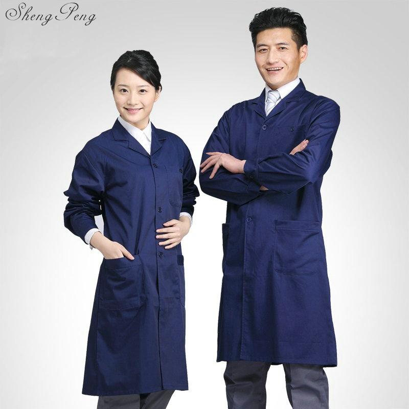 Work Wear For Men Lab Coat Medical Clothing Robe Medical Uniform Lab Supplies Male Men Lab Coat Lab Coat Women Q444