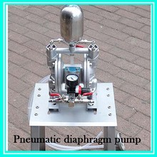 Aluminum alloy Pneumatic Theroy Spray Pump Diaphragm Pump High-Pressure Double Acting Diaphragm Pump single way aluminum alloy pneumatic diaphragm pump 10l min flux for printing ink oil chemical liquid bml 5