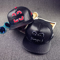 Leather BULLS 23 Snapback Hat Hip Hop Caps Baseball Hats Casquette Gorras Women/Men 2 Colors Hat HT258