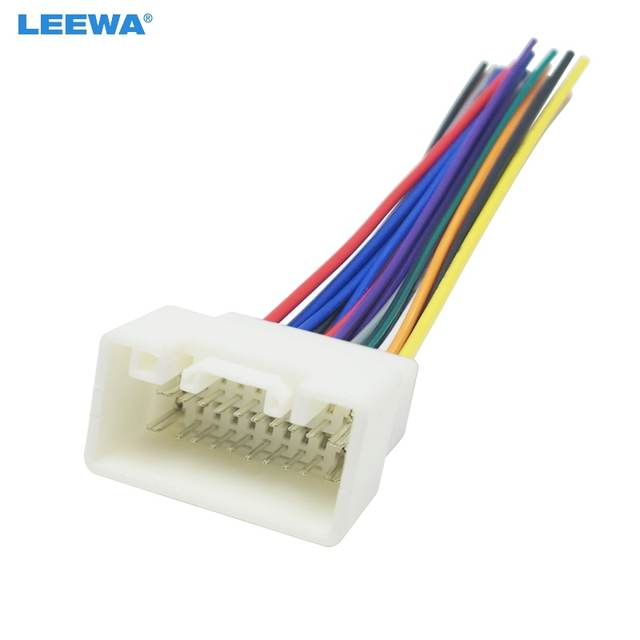 us $2 41 29% off leewa car radio stereo wiring harness adapter for mitsubishi lance outlander mirage aftermarket installation cd dvd ca1444 in E-450 Ford Wiring Harness Adapter