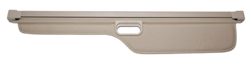 For Land Rover Discovery 3 LR3 2005-2009 Rear Trunk Security Shield Cargo Cover High Qualit Auto Accessories Black / Beige car rear trunk security shield cargo cover for subaru tribeca 2006 07 08 09 10 11 2012 high qualit black beige auto accessories