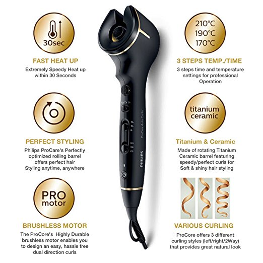 Styler Professional Hair Curler Styling Tools Ceramic Wave Hair Titanium Automatic Magic Curling Iron Stick