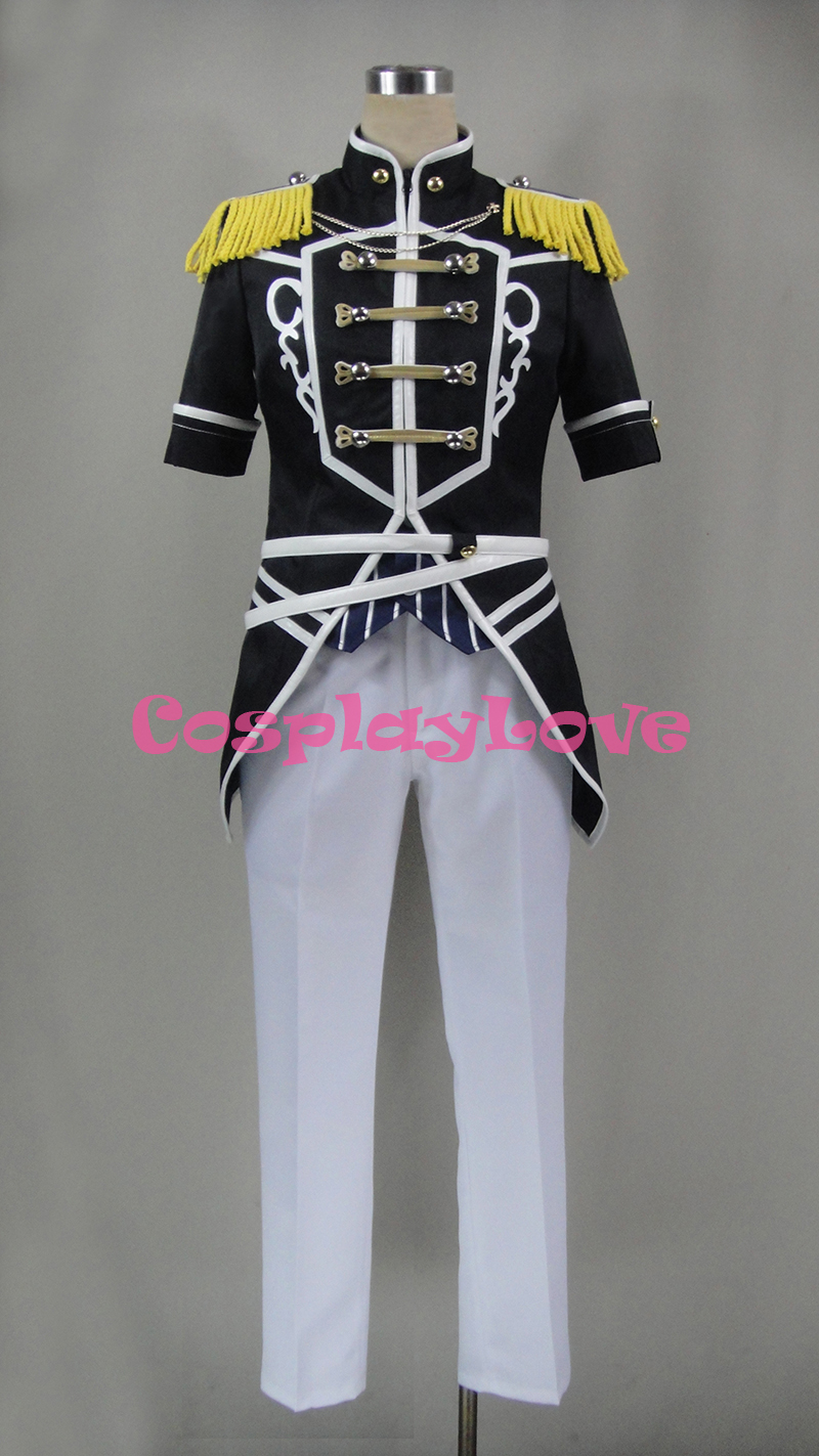 Ensemble Stars Judge Black and White Duel Adoring Past Izumi Sena Sakuma Ritsu Cosplay Costume Custom