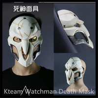 Top Grade Hot Movie game cosplay mask The Death Reaper cosplay glass fiber reinforced plastics mask watchman cosplay PVC Mask