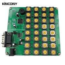 32 כפתורים RS232 מקלדת עבור Kincony חכם בית אוטומציה מודול בקר מרחוק בקרת מתג Domotica Hogar Casa מערכת
