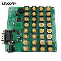 Teclado RS232 de 32 botones para Módulo de automatización de domótica Kincony, Control remoto, sistema de Hogar domótica