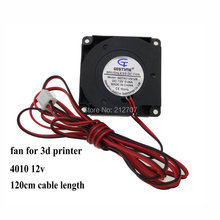 10PCS Gdstime 3D Printer Fan Blower 40mm x 10mm 12V 40x40x10mm DC Cooling Cooler