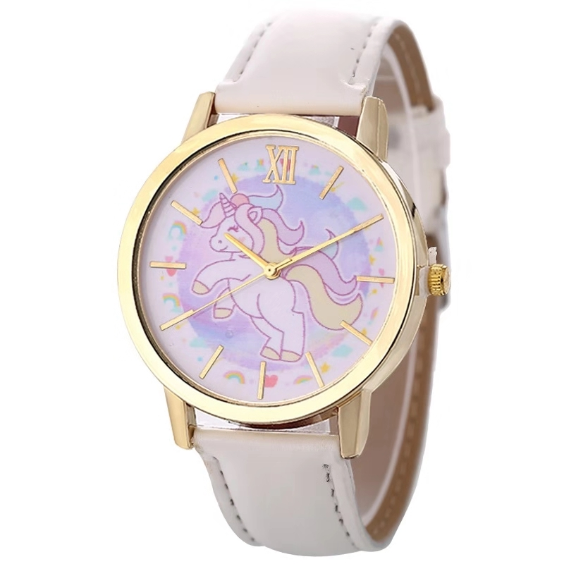 Lovely Fashion New Unicorn Children's Watch  Girl Quartz Watch Cartoon Watch  Gifts For Girls