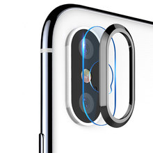 Mobile Phone Camera Lens Screen Protector For iPhone X 7 Tempered Glass+Metal Rear Lens Protective Ring For iPhone 6 6s 7 8 Plus аксессуар защита камеры apres metal ring lens protector для iphone 6 plus 6s plus black