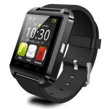 Montre Bluetooth Stepfly U8 pour IOS IPhone 4/5S/6 Samsung S4/Note 3 HTC Android /IOS téléphone montre intelligente GT08 DZ09