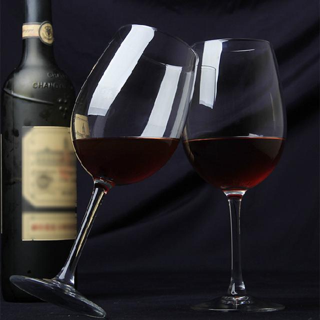 Lead-free crystal wedding wine glas part red wine glass crystal glassware 440ml