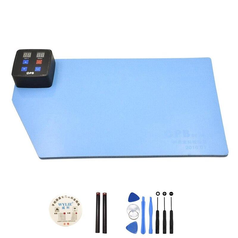 La DGPC Chauffage Pad Tactile Écran LCD Ouvert Machine Séparée De Réparation Outil Séparateur pour iPad iPhone
