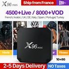 X96 MINI France IPTV Box Smart Android 7.1 IP TV French Arabic SUBTV Code IPTV Subscription Spain Canada Turkey Portugal IPTV